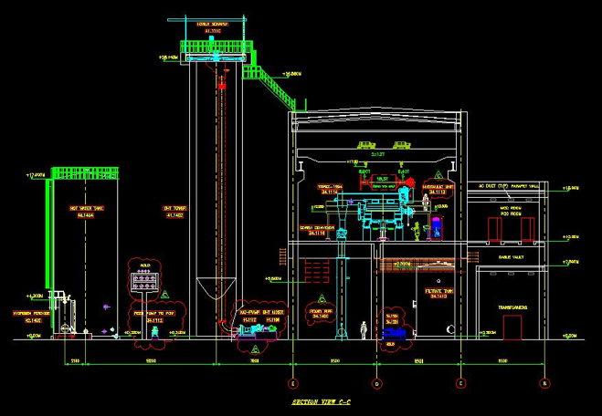 Og A Equipment Layout Section on Stand Fan With Remote